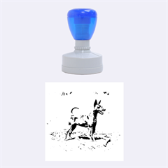 Min Pin Full Rubber Round Stamps (Medium)
