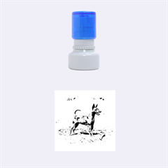 Min Pin Full Rubber Round Stamps (Small)