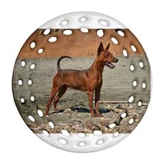 Min Pin Full Round Filigree Ornament (2Side)