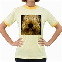 Wheaten Women s Fitted Ringer T-Shirts