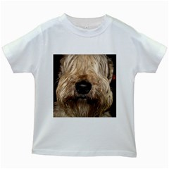 Wheaten Kids White T-Shirts