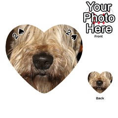 Wheaten Playing Cards 54 (Heart)