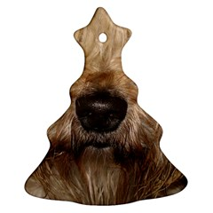 Wheaten Christmas Tree Ornament (2 Sides)