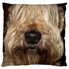 Wheaten Standard Flano Cushion Cases (One Side)