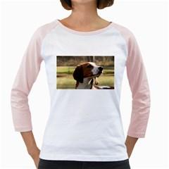 Treeing Walker Coonhound Girly Raglans