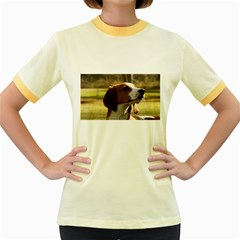 Treeing Walker Coonhound Women s Fitted Ringer T-Shirts
