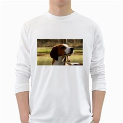 Treeing Walker Coonhound White Long Sleeve T-Shirts