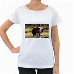 Treeing Walker Coonhound Women s Loose-Fit T-Shirt (White)