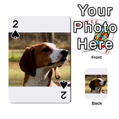 Treeing Walker Coonhound Playing Cards 54 Designs
