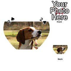 Treeing Walker Coonhound Playing Cards 54 (Heart)