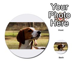 Treeing Walker Coonhound Multi-purpose Cards (Round)