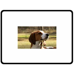 Treeing Walker Coonhound Fleece Blanket (Large)