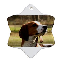 Treeing Walker Coonhound Snowflake Ornament (2-Side)