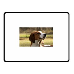 Treeing Walker Coonhound Double Sided Fleece Blanket (Small)