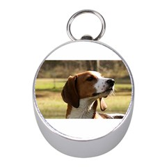 Treeing Walker Coonhound Mini Silver Compasses