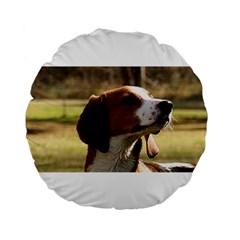 Treeing Walker Coonhound Standard 15  Premium Flano Round Cushions