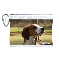 Treeing Walker Coonhound Canvas Cosmetic Bag (L)