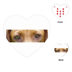 Vizsla Eyes Playing Cards (Heart)