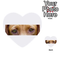 Vizsla Eyes Multi-purpose Cards (Heart)