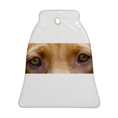 Vizsla Eyes Ornament (Bell)