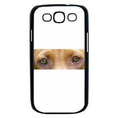 Vizsla Eyes Samsung Galaxy S III Case (Black)