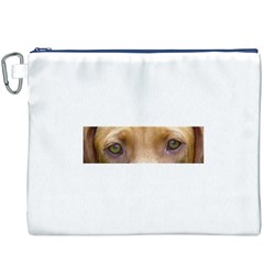 Vizsla Eyes Canvas Cosmetic Bag (xxxl)