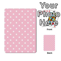 Pink Polka Dots Multi Purpose Cards (rectangle)