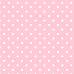 Pink Polka Dots Magic Photo Cubes