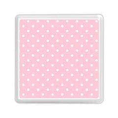 Pink Polka Dots Memory Card Reader (Square)