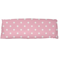 Pink Polka Dots Body Pillow Cases Dakimakura (two Sides)