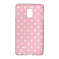 Pink Polka Dots Galaxy Note Edge