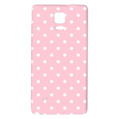 Pink Polka Dots Galaxy Note 4 Back Case