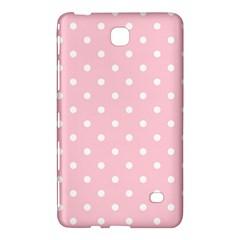 Pink Polka Dots Samsung Galaxy Tab 4 (8 ) Hardshell Case