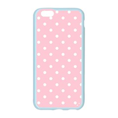 Pink Polka Dots Apple Seamless iPhone 6 Case (Color)