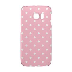 Pink Polka Dots Galaxy S6 Edge