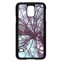 Under Tree  Samsung Galaxy S5 Case (Black)