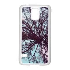 Under Tree  Samsung Galaxy S5 Case (White)