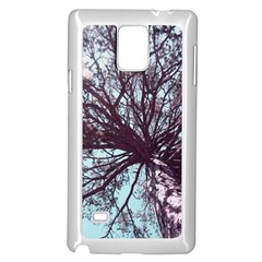 Under Tree  Samsung Galaxy Note 4 Case (white)