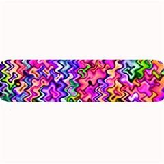 Swirly Twirly Colors Large Bar Mats