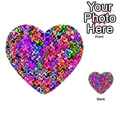 Swirly Twirly Colors Multi-purpose Cards (Heart)