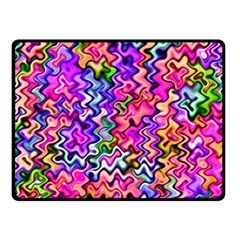 Swirly Twirly Colors Fleece Blanket (small)