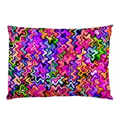 Swirly Twirly Colors Pillow Cases (two Sides)