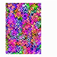 Swirly Twirly Colors Small Garden Flag (Two Sides)