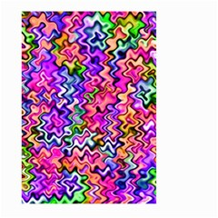 Swirly Twirly Colors Large Garden Flag (Two Sides)