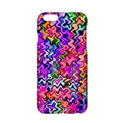 Swirly Twirly Colors Apple iPhone 6 Hardshell Case