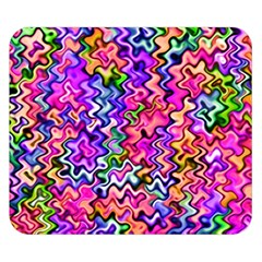 Swirly Twirly Colors Double Sided Flano Blanket (Small)