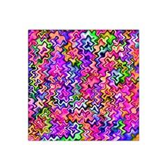 Swirly Twirly Colors Satin Bandana Scarf