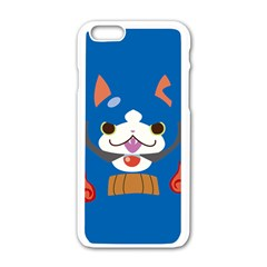 Gabunyann Reverse Print Apple iPhone 6 White Enamel Case