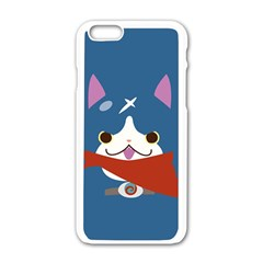 Fuyunyann Reverse Print Apple iPhone 6 White Enamel Case
