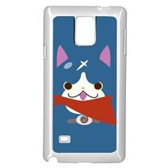 Fuyunyann Reverse Print Samsung Galaxy Note 4 Case (White)